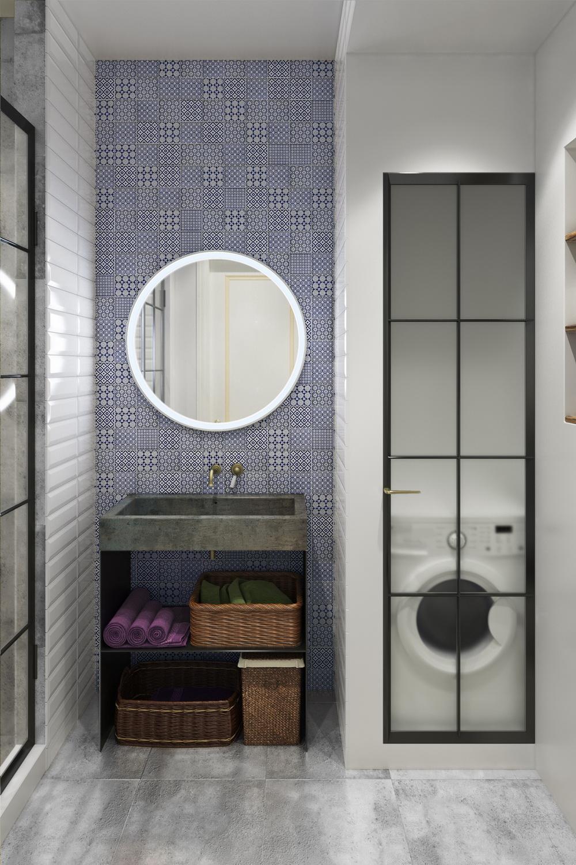 Дизайн маленькой ванны в квартире
