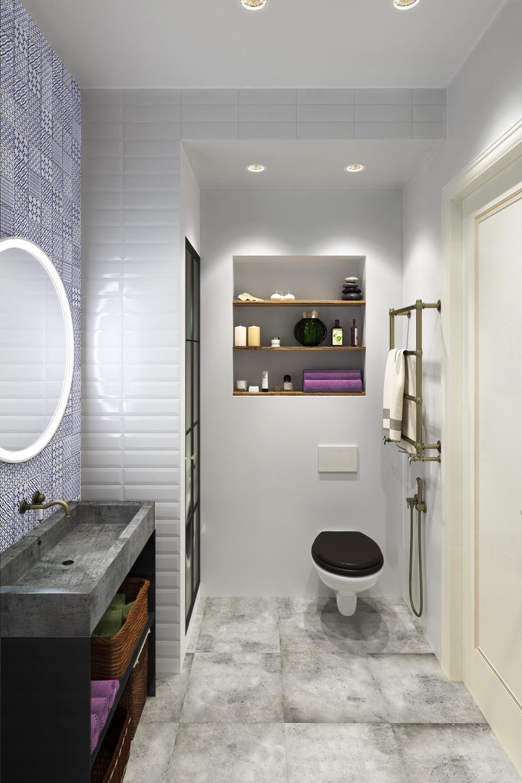 Ванная в квартире дизайн фото