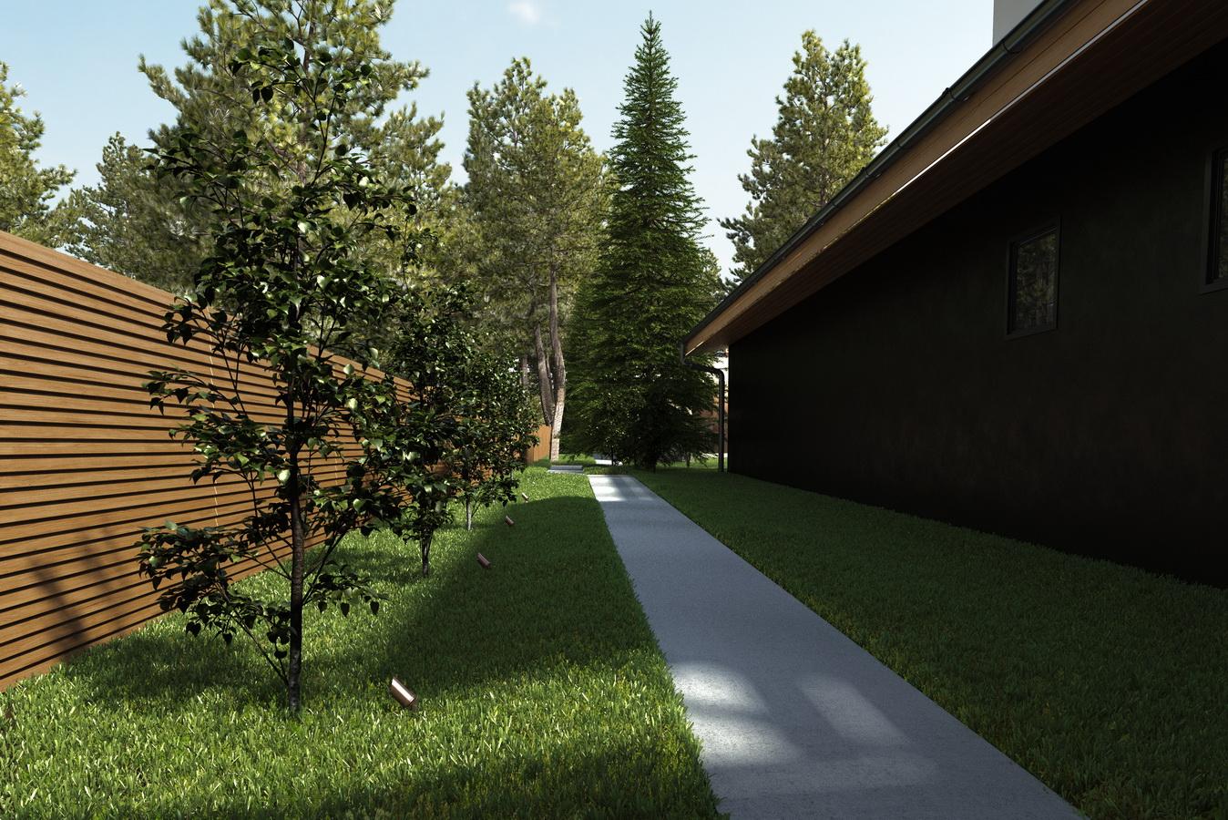 Фото проекта дома с участком 3