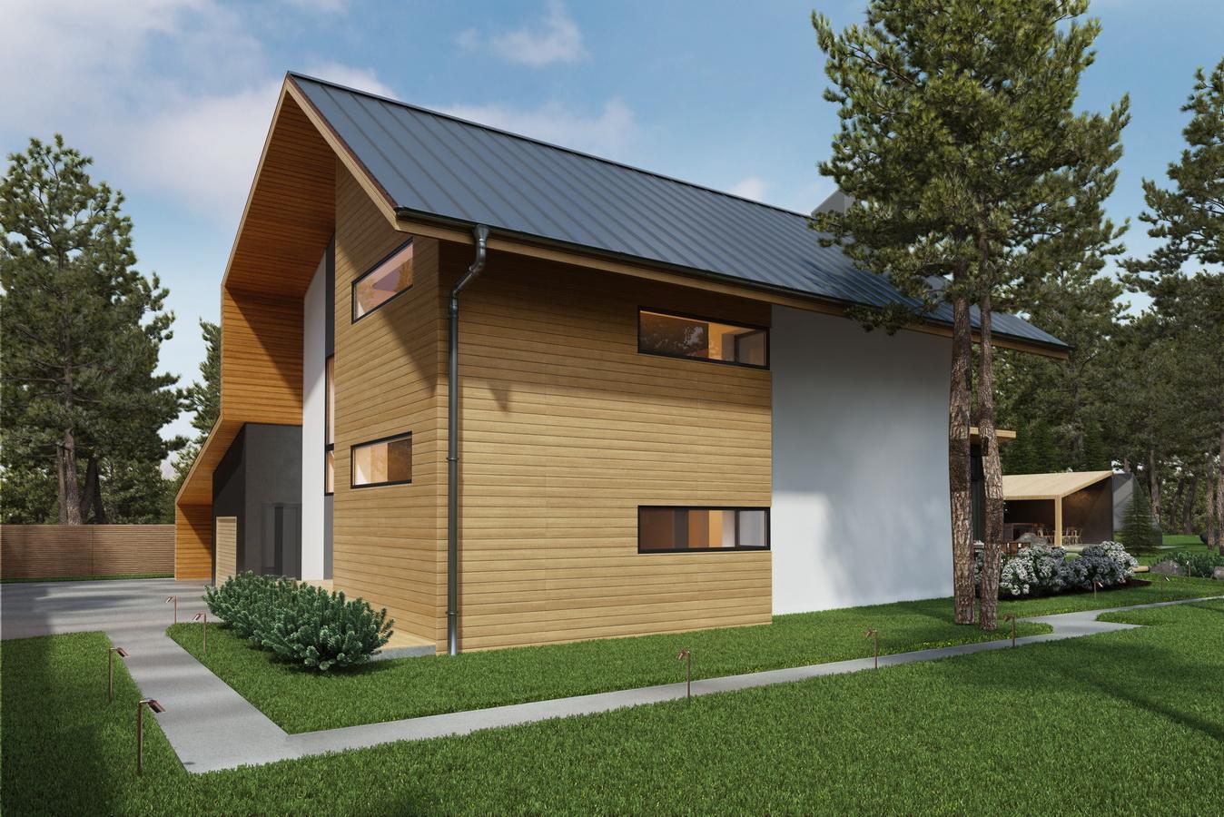 Фото проекта двухэтажного дома