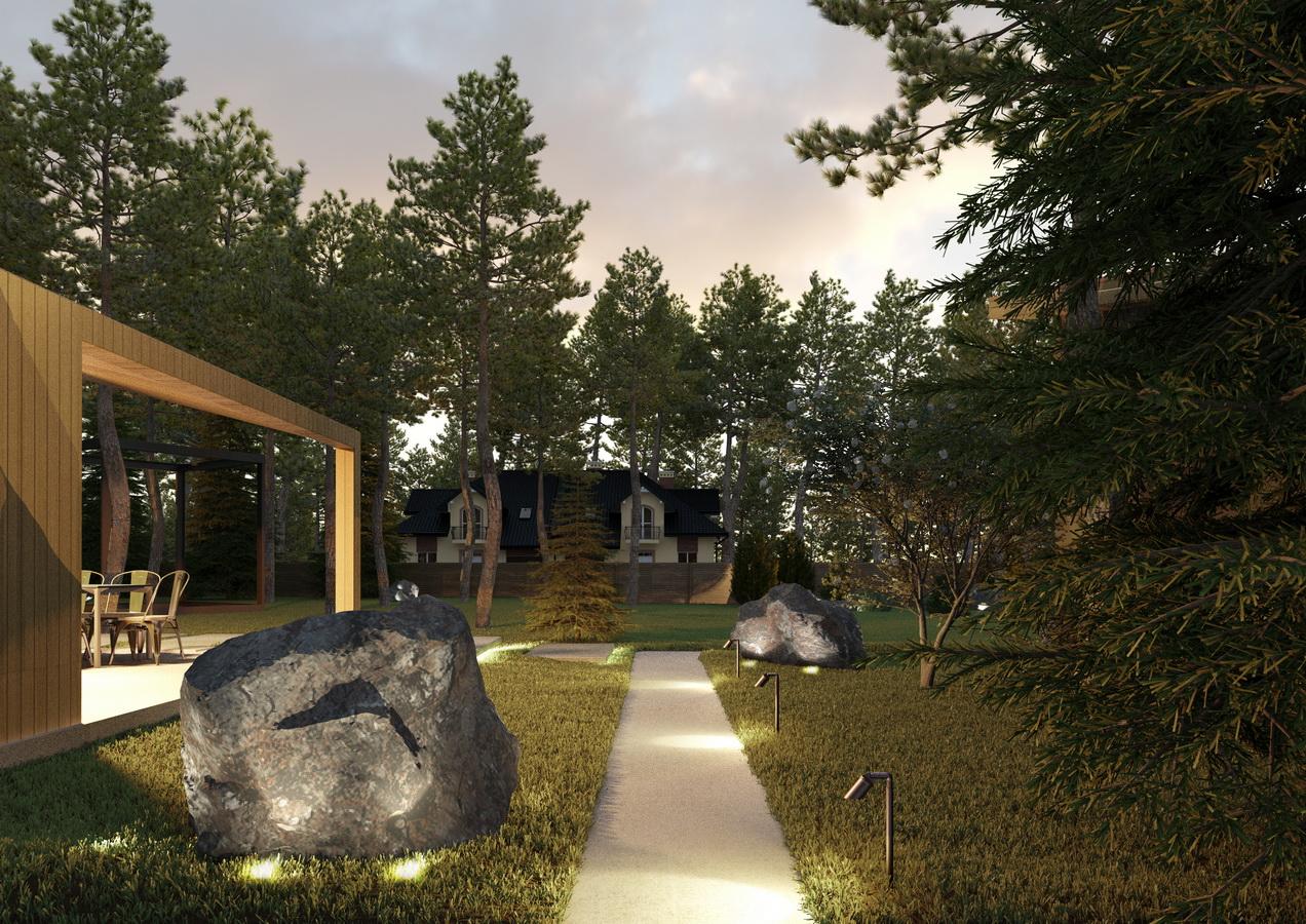Проект участка загородного дома 2