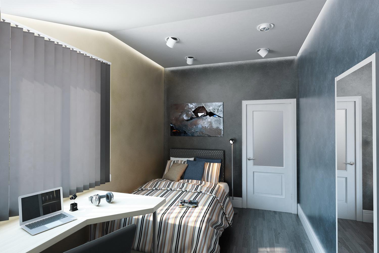 Маленькая спальная комната 1
