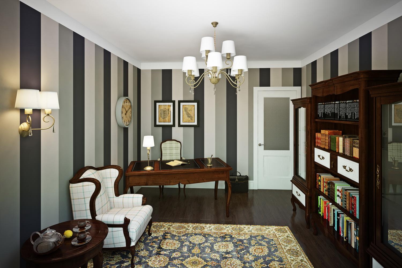 Фото кабинета в доме 1