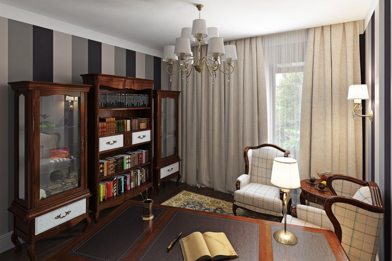 Фото кабинета в доме