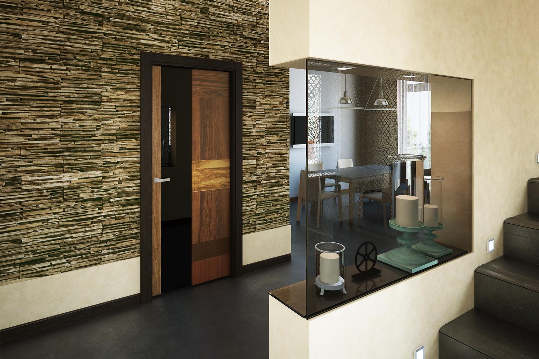 Дизайн гостиной с камином 3