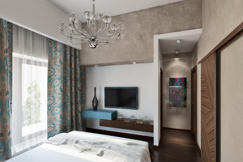 Дизайн маленькой спальни 1