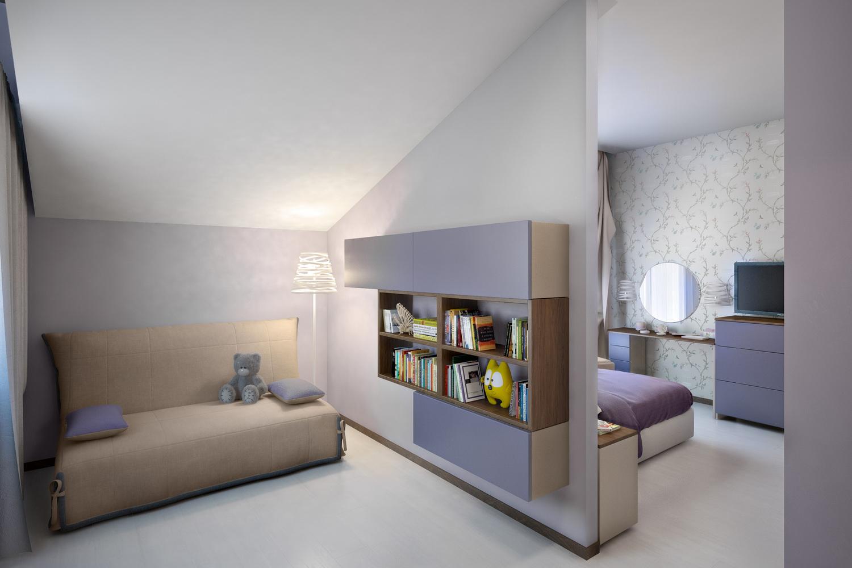 Дизайн светлой спальни 2