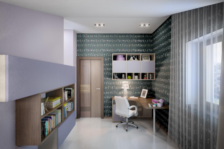 Дизайн светлой спальни 3
