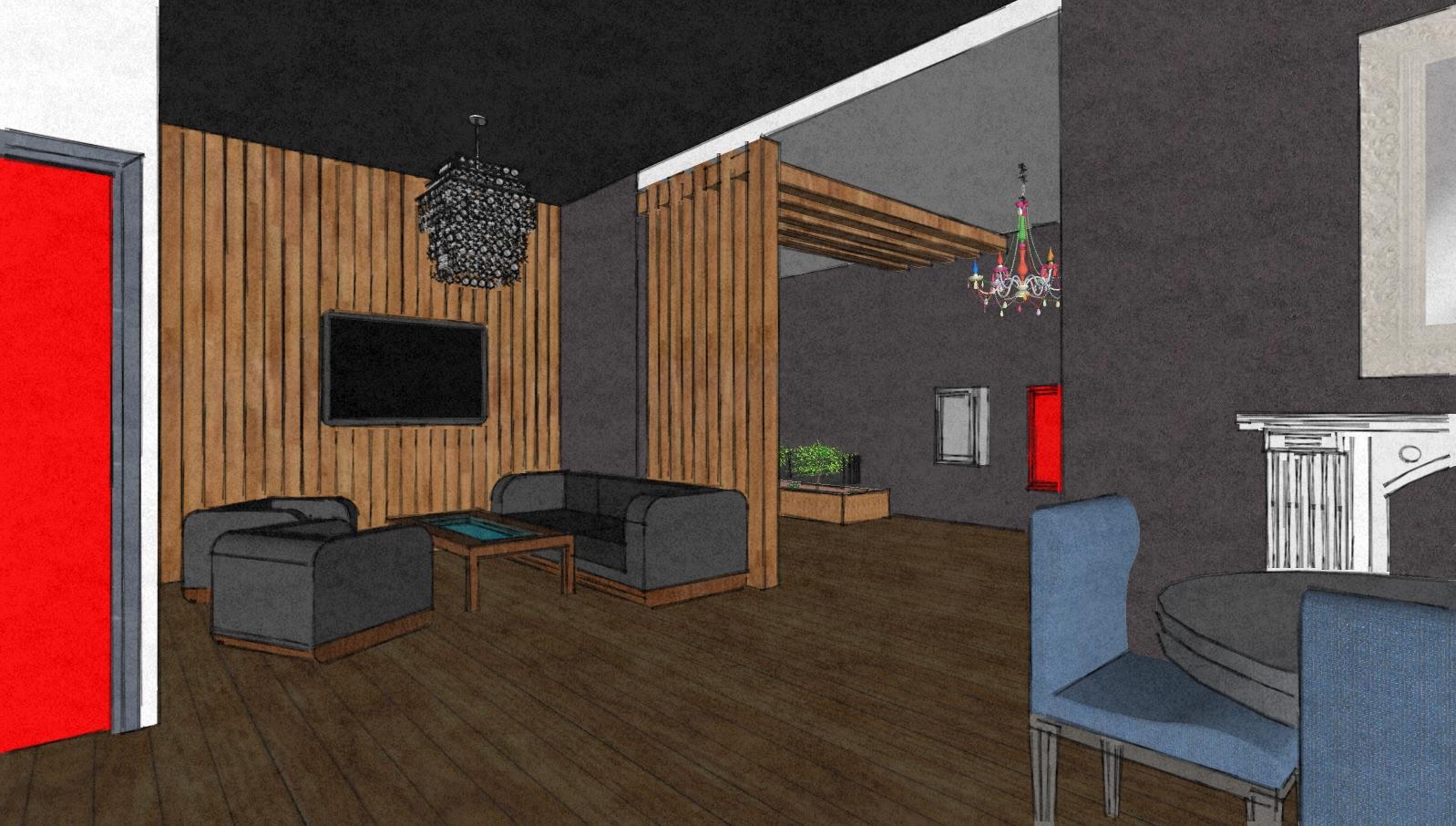 Фото дизайна студии 4