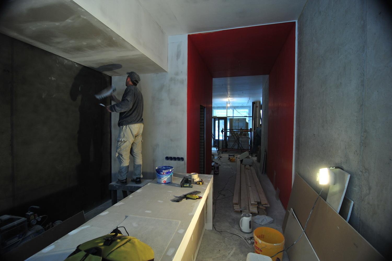 Фото ремонта студии 4
