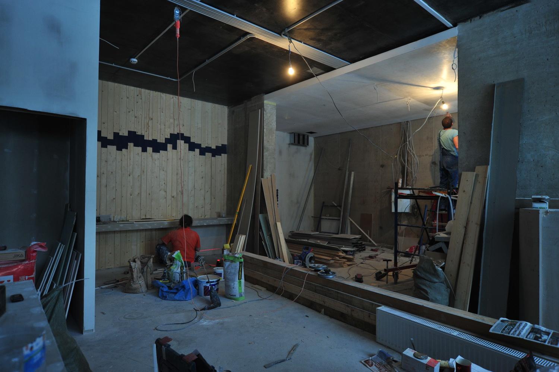 Фото ремонта студии