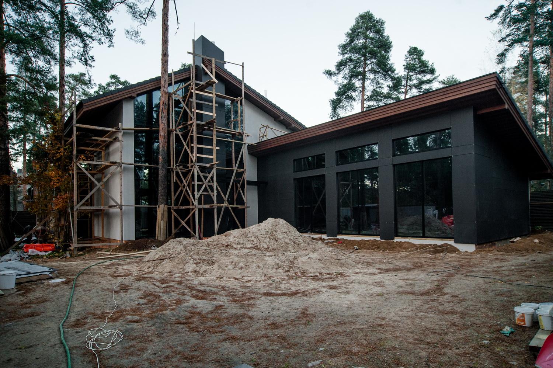 Загородное строительство дачи дома