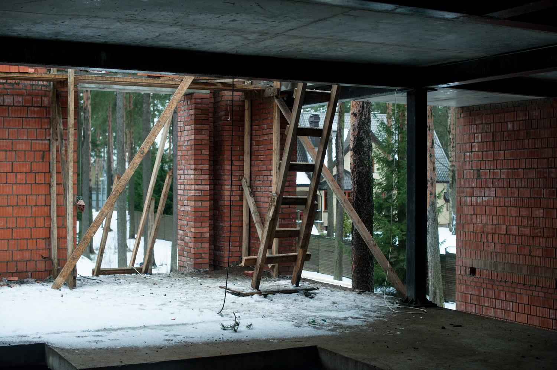 Строительство загородного дома из кирпича 3