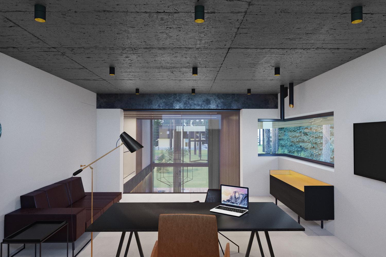 Дизайн маленького кабинета в доме