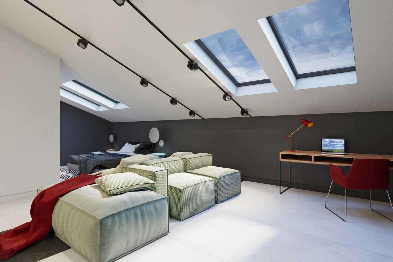 Дизайн спальной зоны