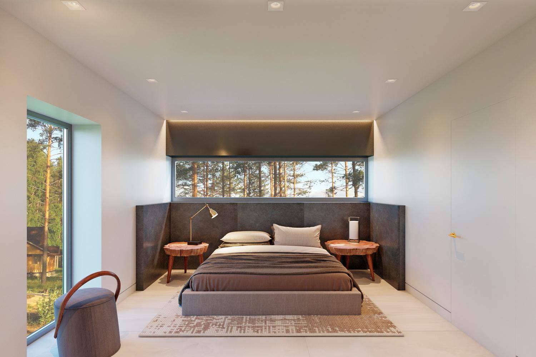 Современный дизайн спальной комнаты фото