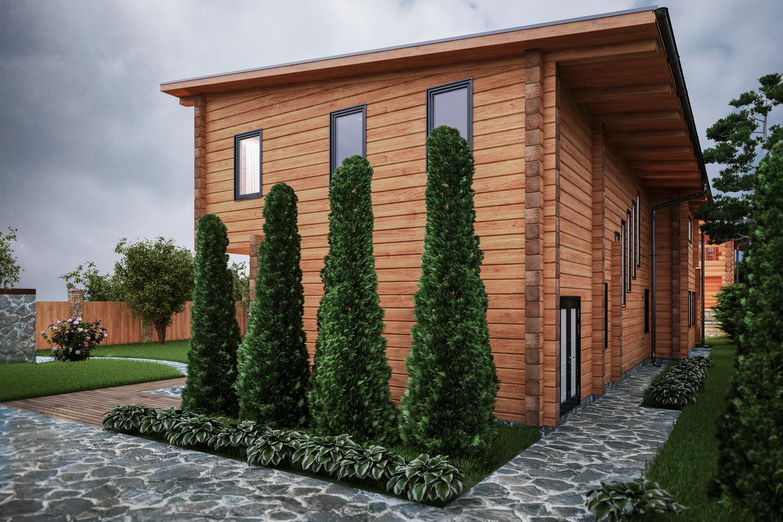 Двухэтажный дом фото снаружи