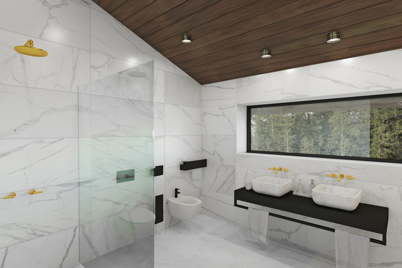 Оригинальный дизайн ванной 3