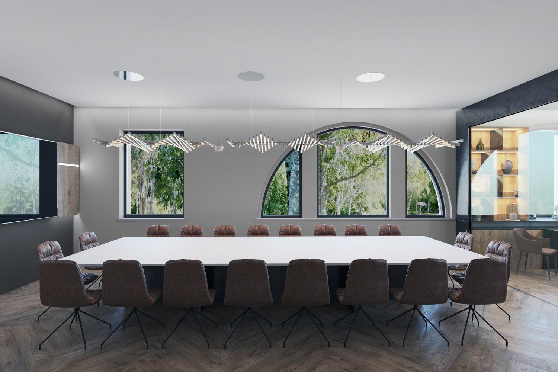 Фото дизайна переговорной комнаты